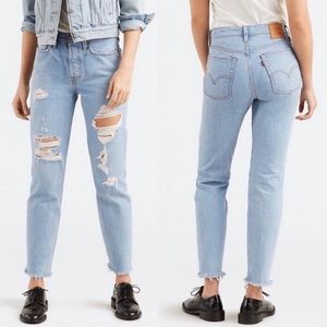 Levi's High Rise Wedgie Fit Jeans